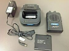 Apollo 2 Ch Sv Vhf Vp200 Pro-1 Voice Pager, with Charger, Used