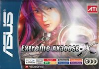 ASUS EAX300SE-X/TD/128M/A EXTREME RAD X300 128MB DDR PCIE-X16 VIDEO CARD - NEW!