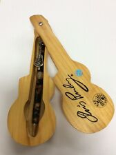 Elvis Presley Collector's Pen with Wooden Guitar Shape Case - Ships Free!