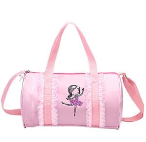 Kids Ballerina Dance Bag for Girls Pink Ballet Bag Cute Princess Bag Good Gift