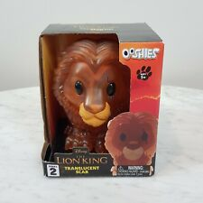 THE LION KING Large Translucent Scar Ooshie NEW IN BOX