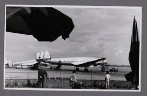 AMERICAN OVERSEAS AIRLINES AOA LOCKHEED CONSTELLATION VINTAGE PHOTO