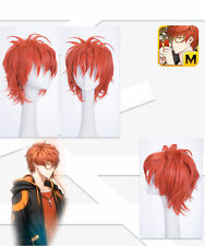 Anime Game Mystic Messenger 707 Luciel Choi Cosplay Wig Male