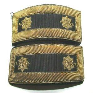 Original Civil War Era Major Rank Shoulderboards  / Shoulder Boards