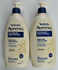 Aveeno Skin Relief Moisturizing Lotion for Sensitive Skin 18 fl. oz, Lot of 2
