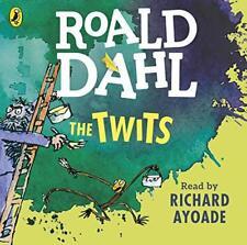 The Twits (Dahl audio) por Dahl, Roald Audio CD LIBRO 9780141370378 NUEVO