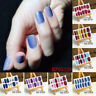 Nail Polish Waterproof 3D Strips Sticker Nail Decals Tips Manicure Decor