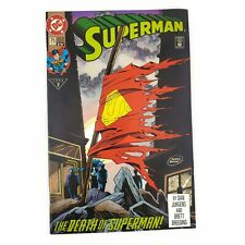 DC Superman #75 1993 The Death of Superman Standard Edition 4th Print VF/NM