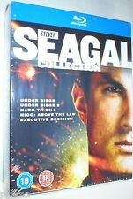 STEVEN SEAGAL COLLECTION New 5-Film BLU-RAY Under Siege Executive Decision Nico