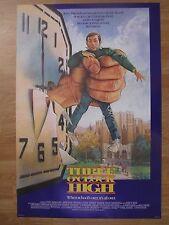Movie Posters : THREE O'CLOCK HIGH   Original American One Sheet