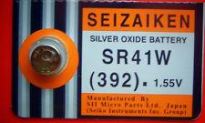 1 Seizaiken (Seiko) 392  (SR41W)  Silver Oxide  Battery  Fast USA