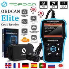 VOLVO TOPDON ELITE OBD2 EOBD Car Diagnostic Tool Code Reader Engine SRS ABS