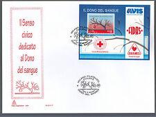 2015 BUSTA ITALIA FDC  Capitolium Dono sangue Croce Rossa Red Cross Croix rouge