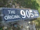 VINTAGE 905 LIQUOR PORCELAIN sign neon 16'