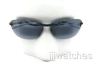 New Maui Jim Makaha Reader +2.00 Black Gray Asian Fit Men Sunglasses G805-0220
