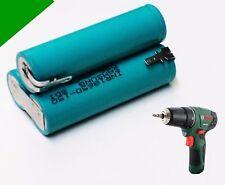 Ersatz Akku für ORIGINAL Bosch PSR 10,8 V-Li - 1,5 Ah Samsung / Sanyo m. Steckv.