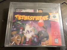 Tetrisphere (Nintendo 64, 1997) N64 VGA 90 Graded Gold