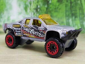 Hot Wheels Sandblaster Racing Pickup Diecast Model - Excellent Condition