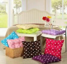 40cm X 40cm Square Cushion Dots Print Chair Seat Car Sofa Pads Soft Home Decor