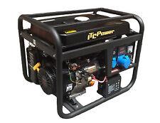 STROMAGGREGAT STROMERZEUGER 6600 W ITC POWER GG9000LEK-LPG Gas und Benzin 230V