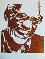 Ray Charles Stencil/Template Reusable 10 mil Mylar Wild Pig Boar Hunting