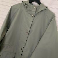 Barbour Shaw Jacket Hooded Full Zip Waterproof Breathable Hooded Women's 2X