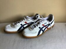 Asics Japan Size 13 Mens White Red Blue Rubber Outsole Tennis Shoes