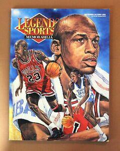 Legends Sports Memorabilia Sept/Oct 1992 Volume 5 Number 5 Michael Jordan