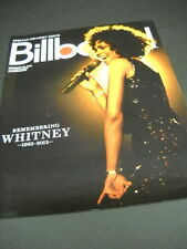 WHITNEY HOUSTON Remembering WHITNEY 2012 BB cover PROMO DISPLAY AD