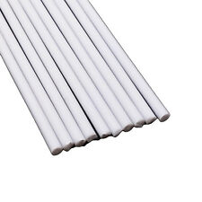 US Stock 10x ABS Styrene Plastic Round Bar Rod Dia 3mm length 9.8