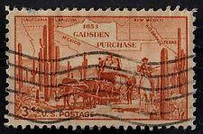 US 1953 Scott #1028 Gadsden Purchase 3 Cents STAMP