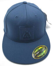 MATIX APPAREL blue fitted cap / hat - size 7 1/4 - 7 5/8 ( L / XL ) *NEW*