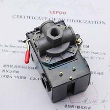 Pressure Switch Control Valve Air Compressor 90-120PSI 4 PORT HEAVY DUTY 26 AMP