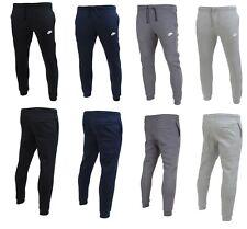 Nike Mens Slim Fleece Pant Tracksuit Bottoms Track Pants NSW Jogger XL Dark Grey