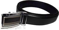 New Men's XL leather dress belt/Casual belt, easy fit Black belt, men's belt NWT