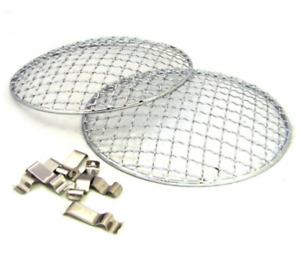 "7"" Headlamp Stone Guard Covers"