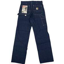 New listing Rare Deadstock Nwt Vintage 1970s 70's Carhartt Carpenter Denim Work Pants Jeans