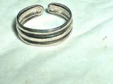 Summer is Here! 925 Stamped! Win! Wow New! Genuine Solid Silver Toe Ring!