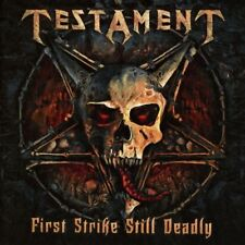 TESTAMENT - FIRST STRIKE STILL DEADLY   CD NEUF