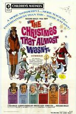 THE CHRISTMAS THAT ALMOST WASN'T Movie POSTER 27x40 Rossano Brazzi Paul Tripp