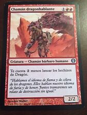 Magic the Gathering DRAGONSPEAKER SHAMAN Duel Deck Knights vs. Dragons SPANISH