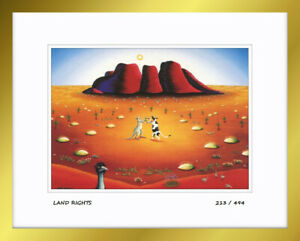 Heaven and Earth, ''Land Rights'' Limited Edition Numbered Framed Art Print