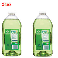 2 Pack Green Works Appliances Chrome Kitchen All Purpose Cleaner Refill 64 Oz