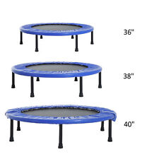 """36""""  38"""" 40"""" Mini Trampoline Safety Fitness Mini Gym Exercise Indoor Outdoor"""