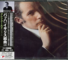 GLENN GOULD-BACH: ENGLISH SUTIES (COMPLETE)-JAPAN 2 SACD Hybrid I98