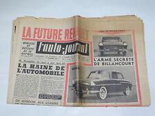 Documentación automóvil - L'Auto Journal : 1er Diciembre 1956