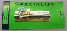 """Heavy Brass Door Bolt 4"""" - 100mm with Screws"""