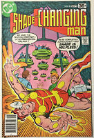 SHADE THE CHANGING MAN#8 FN/VF 1977 STEVE DITKO DC BRONZE AGE COMICS