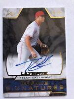 Tyler Callihan Reds Prospect AUTO 2019 Leaf Ultimate Rookie Signatures