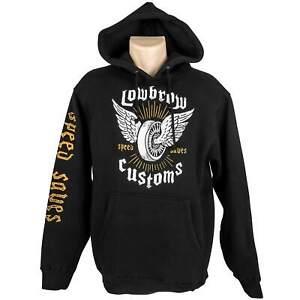 Lowbrow Customs Speed Saves Pullover Hooded Sweatshirt